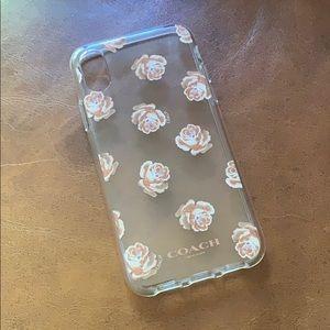 Beautiful brand new Coach iPhone X & XS case 💗🌸